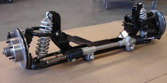 Street Rod Front Axle : Independent front suspension street rod martz chassis