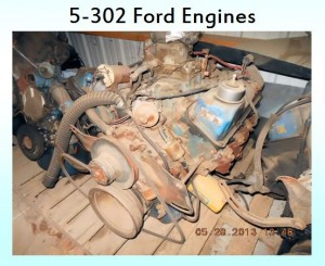 5 - 302 ford engines