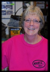 Martz Chassis mew secretary Deb Willey