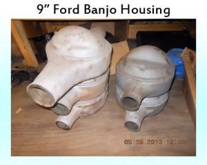 9 inch banjo housing