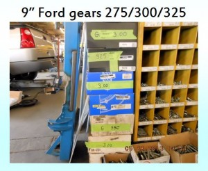 9 inch ford gears