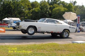 Charger wheels up