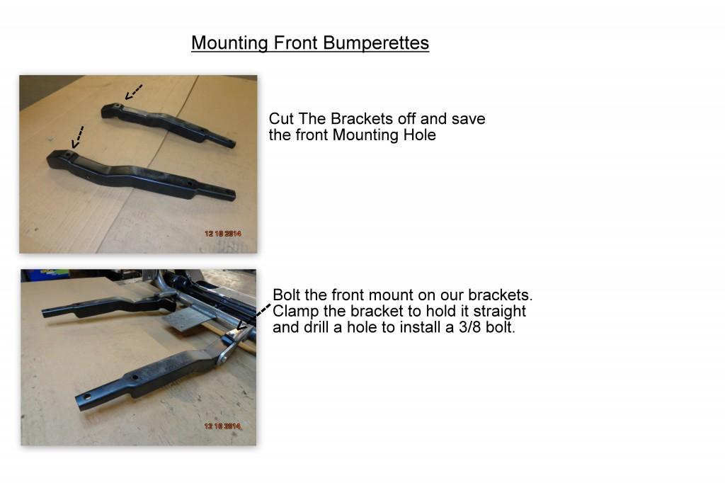 front bumperettes
