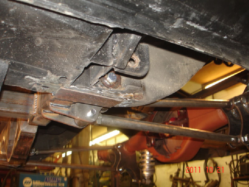 New Ford Torino >> Ford Torino Rear Suspension Installation   Martz Chassis