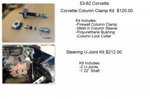 corvette column clamp