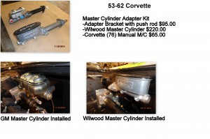 master cylinder adapter kit