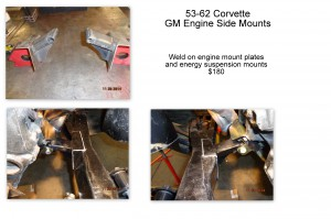 gm engine side mounts