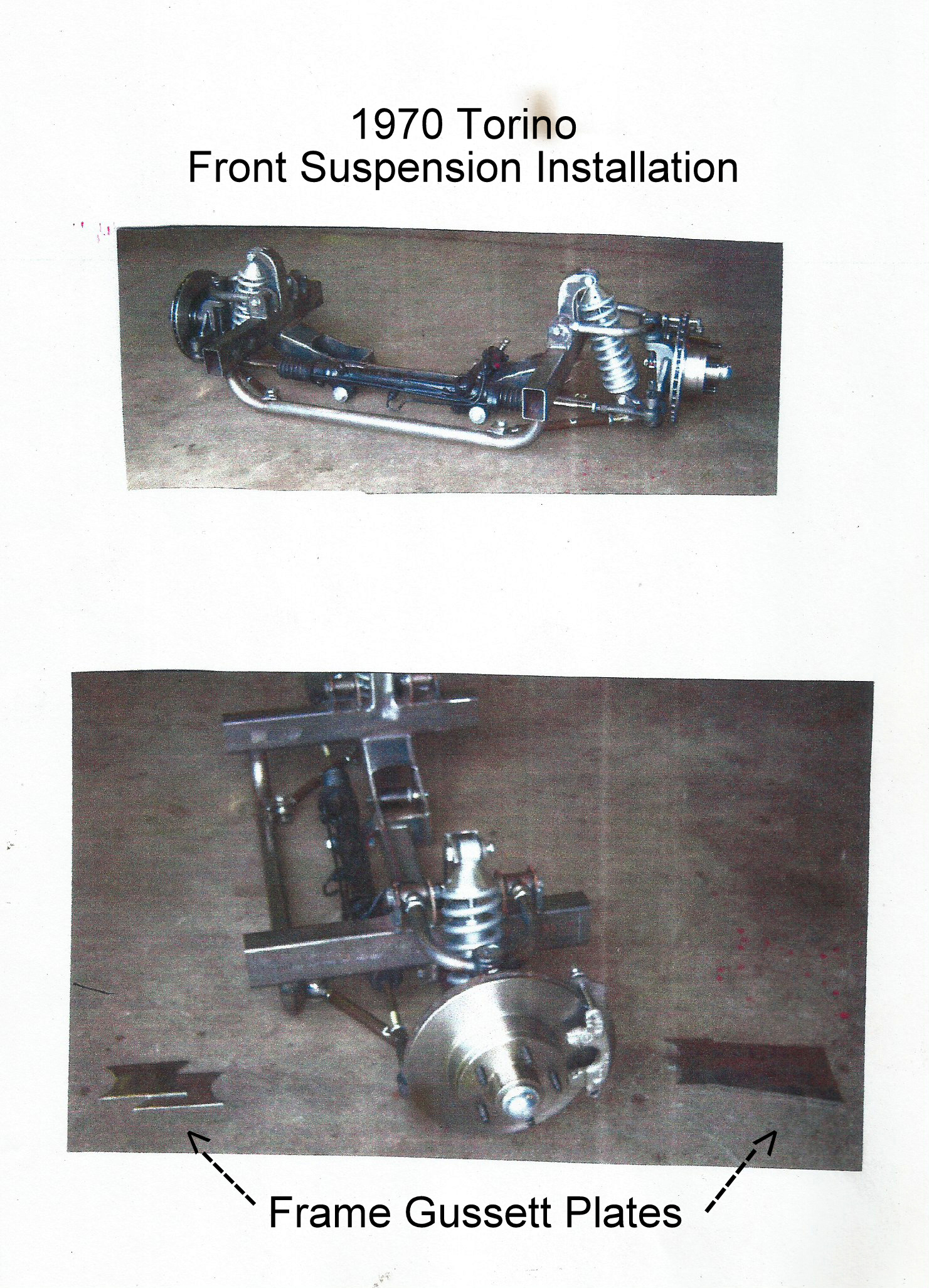 Torino Front Suspension Installation Scan Bmp
