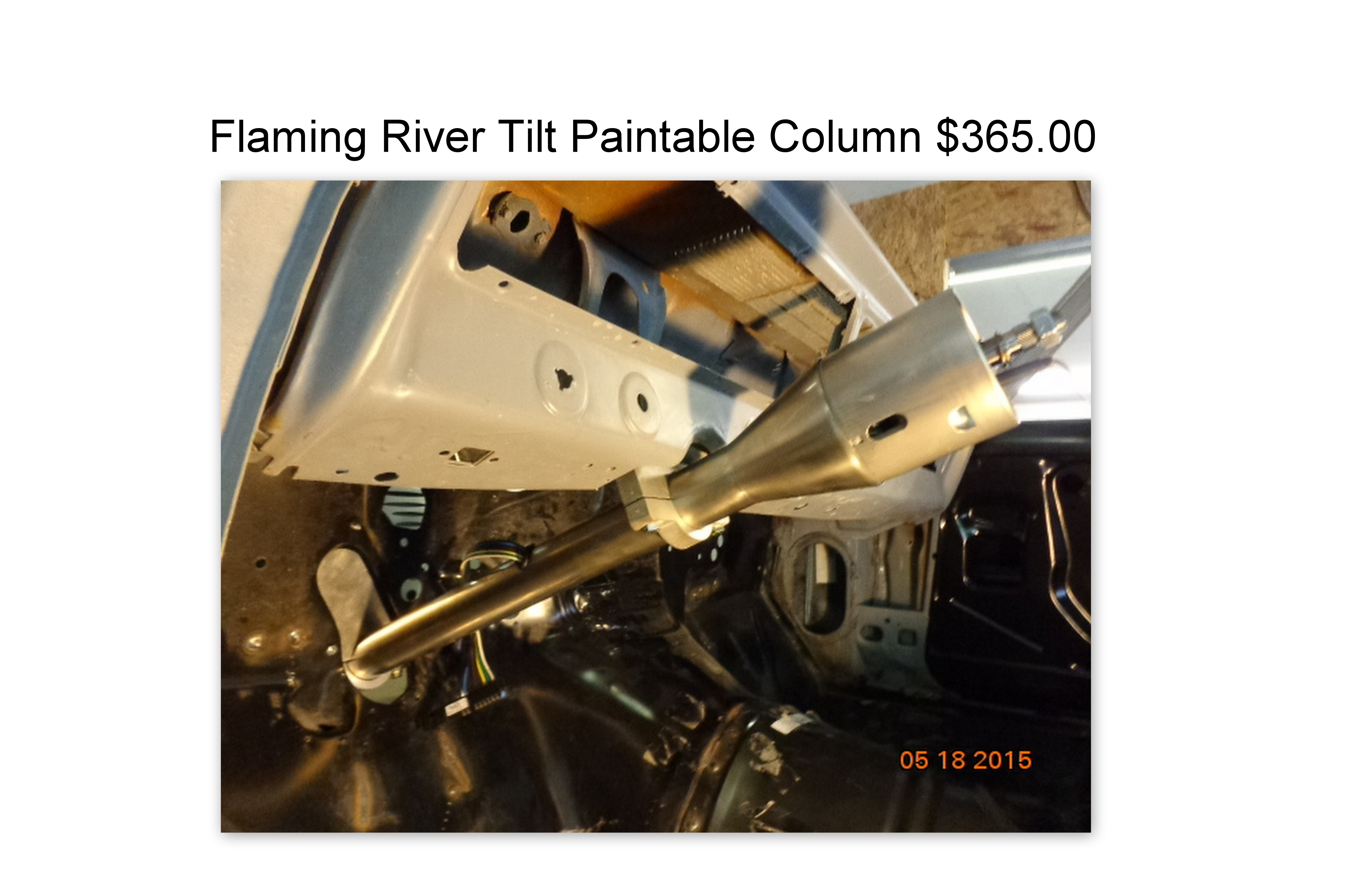 FL tilt paintable column